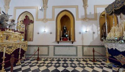 Ilustre y Lasaliana Hdad y Cofradía de Nazarenos de Cristo Rey en su Entrada Triunfal en Jerusalén, Ntra. Señora de la Estrella y S. Juan Bta. de la Salle 3D Model